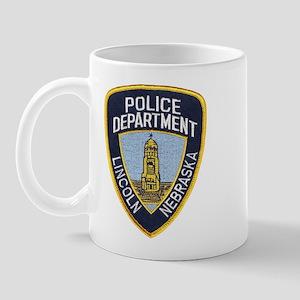 Lincoln Police Mug
