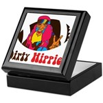 Dirty Hippies logo Keepsake Box