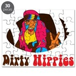 Dirty Hippies logo Puzzle