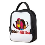 Dirty Hippies logo Neoprene Lunch Bag