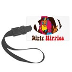 Dirty Hippies logo Luggage Tag