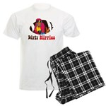 Dirty Hippies logo Pajamas