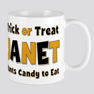 Janet Trick or Treat Mug