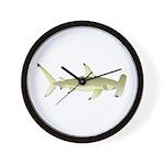 Great Hammerhead Shark f Wall Clock