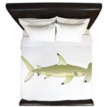 Great Hammerhead Shark f King Duvet