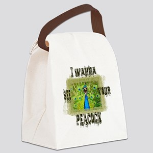 I wanna see.... Canvas Lunch Bag
