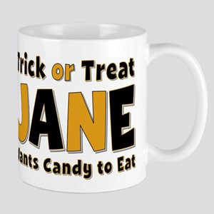 Jane Trick or Treat Mug