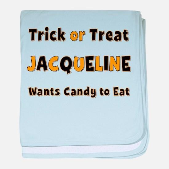 Jacqueline Trick or Treat baby blanket