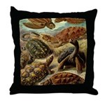 Beautiful Turtle Artwork Throw Pillow