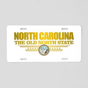 North Carolina Flag Aluminum License Plate