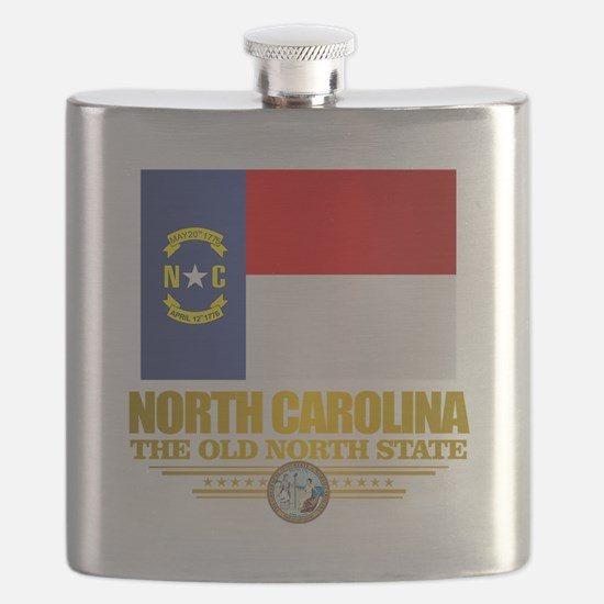 North Carolina Flag Flask