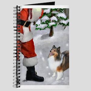 Shetland Sheepdog Christmas Journal