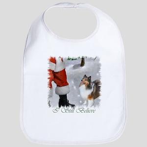 Shetland Sheepdog Christmas Bib