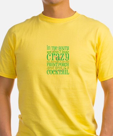 Cute Southern crazy T