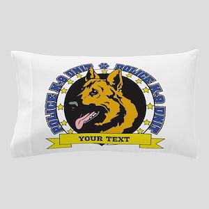 Personalized K9 German Shepherd Pillow Case