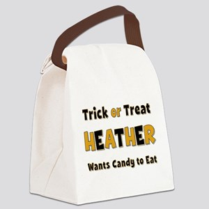 Heather Trick or Treat Canvas Lunch Bag