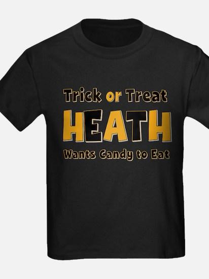 Heath Trick or Treat T-Shirt