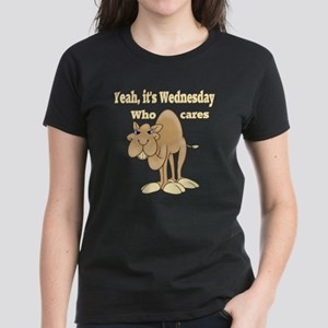 Wednesday Camel Women's Dark T-Shirt