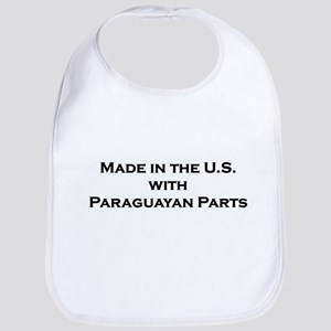 Made in the U.S. with Paraguayan Parts Bib