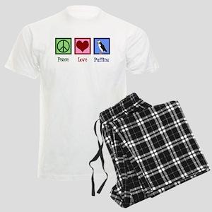 Cute Puffin Men's Light Pajamas