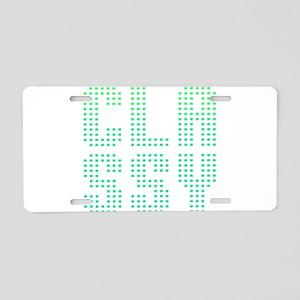 CLASSY! Aluminum License Plate