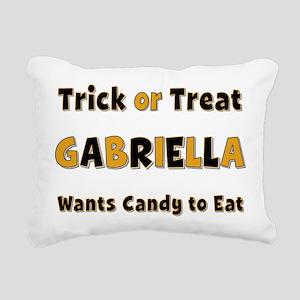 Gabriella Trick or Treat Rectangular Canvas Pillow