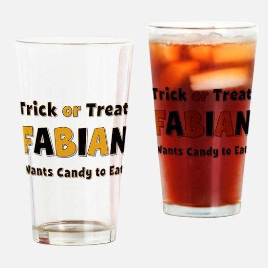 Fabian Trick or Treat Drinking Glass