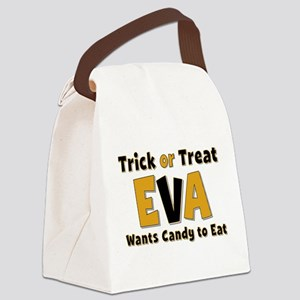 Eva Trick or Treat Canvas Lunch Bag
