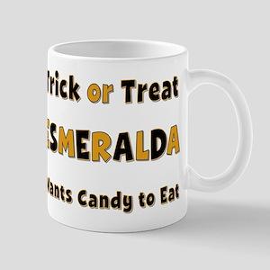 Esmeralda Trick or Treat Mug
