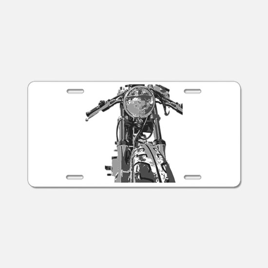 Classic Bonnie Aluminum License Plate