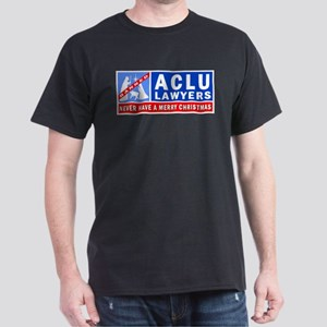 ACLU Lawyers Never Have a Merry Christmas Dark T-S