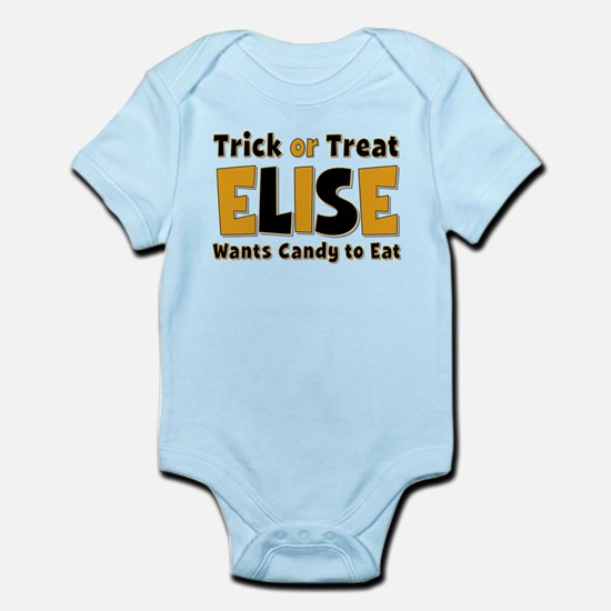 Elise Trick or Treat Body Suit