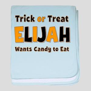 Elijah Trick or Treat baby blanket