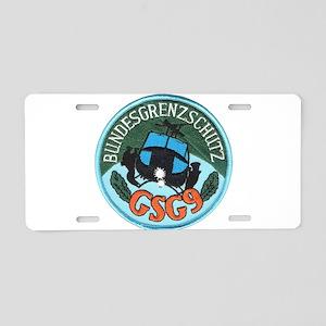 gsg9 Aluminum License Plate