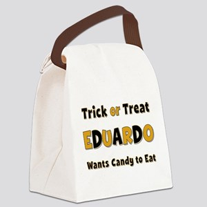 Eduardo Trick or Treat Canvas Lunch Bag
