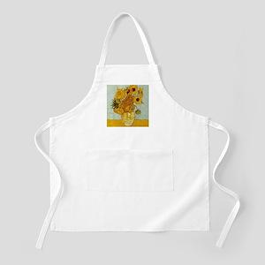 Vincent Van Gogh Sunflower Painting Light Apron