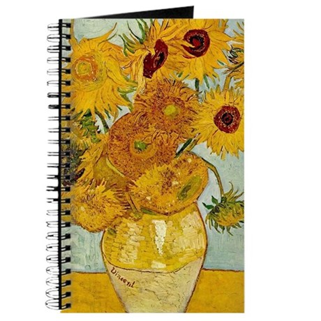 Vincent Van Gogh Sunflower Painting Journal By Admin Cp22960712