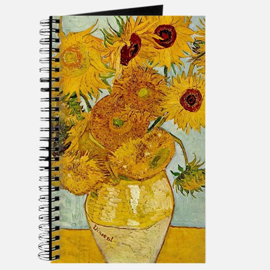 Vincent Van Gogh Sunflower Painting Journal