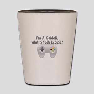 I'm A Gamer What's Your Excuse Shot Glass