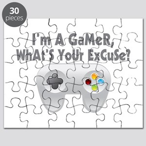 I'm A Gamer What's Your Excuse Puzzle