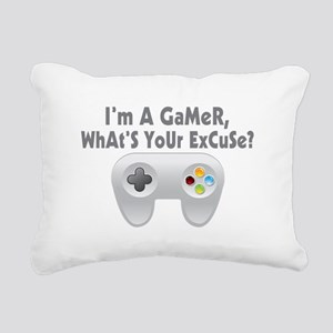 I'm A Gamer What's Your Excuse Rectangular Canvas