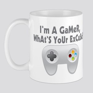 I'm A Gamer What's Your Excuse Mug