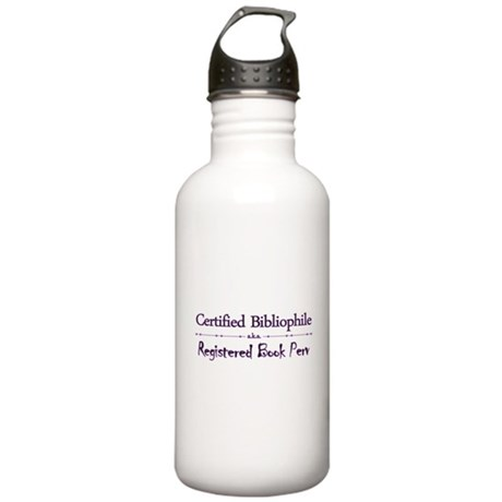 Bibliophile Book Perv Stainless Water Bottle 1.0L