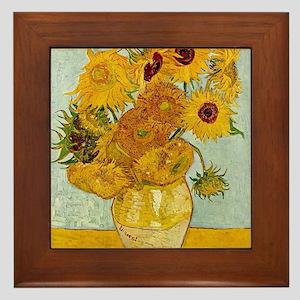 Famous Paintings Framed Tiles Cafepress