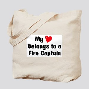 My Heart: Fire Captain Tote Bag