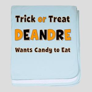 Deandre Trick or Treat baby blanket