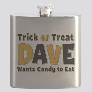 Dave Trick or Treat Flask
