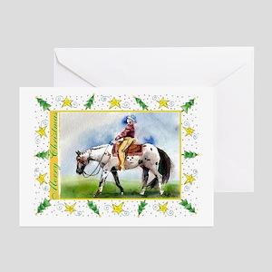 Appaloosa Horse Christmas Greeting Cards (Pk of 10