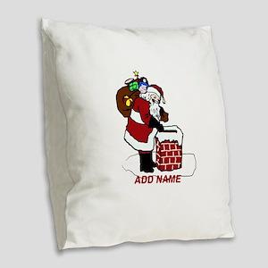 Cute Personalized Santa Delivering Xmas Gifts Burl