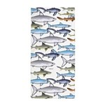 School of Sharks n Beach Towel